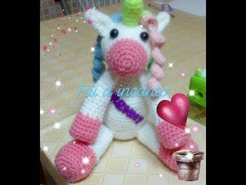 Cute Crochet Unicorn Amigurumi - Free Patterns | Crochet unicorn ... | 360x480