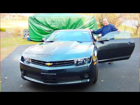 Son Surprises Dad with his Dream Car for 60th Birthday! 2015 Camaro 2LS!