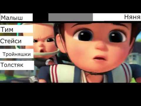 Малыш & Тим vs Няня с барами здоровья/The Boss Baby