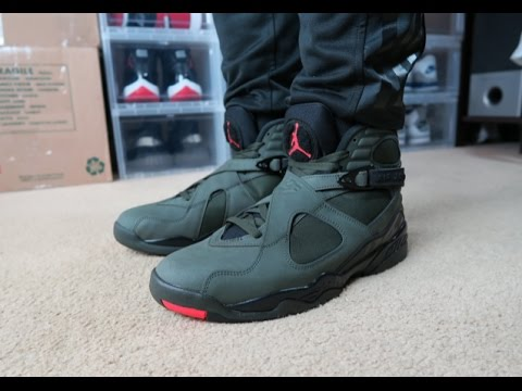 new product 56bb1 32a62 JORDAN 8 TAKE FLIGHT   EARLY REVIEW + ON FEET - YouTube