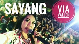 Via Vallen - Sayang Best Of Perform Trans TV
