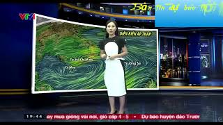 Bản tin dự báo thời tiết : Nam Bộ có mưa lớn .Miền bắc lạnh kèm theo mưa phùn rải rác