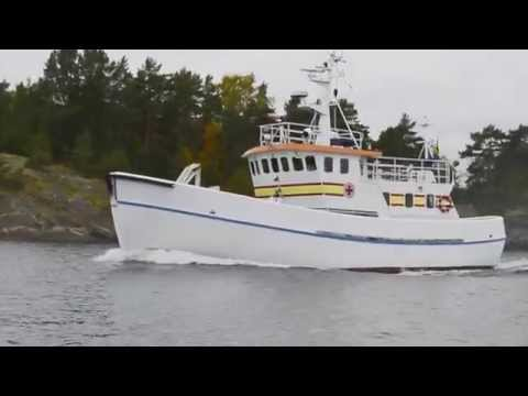 Shipsforsale Sweden, Sea trial K A Wallenberg, search and re