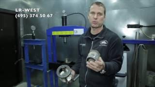 видео Замена рычагов Ленд Ровер в СПб. Замена передних и задних рычагов Land Rover в Санкт-Петербурге в день обращения