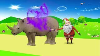 учить животных для малышей - животные для детей - видео развивающее #48