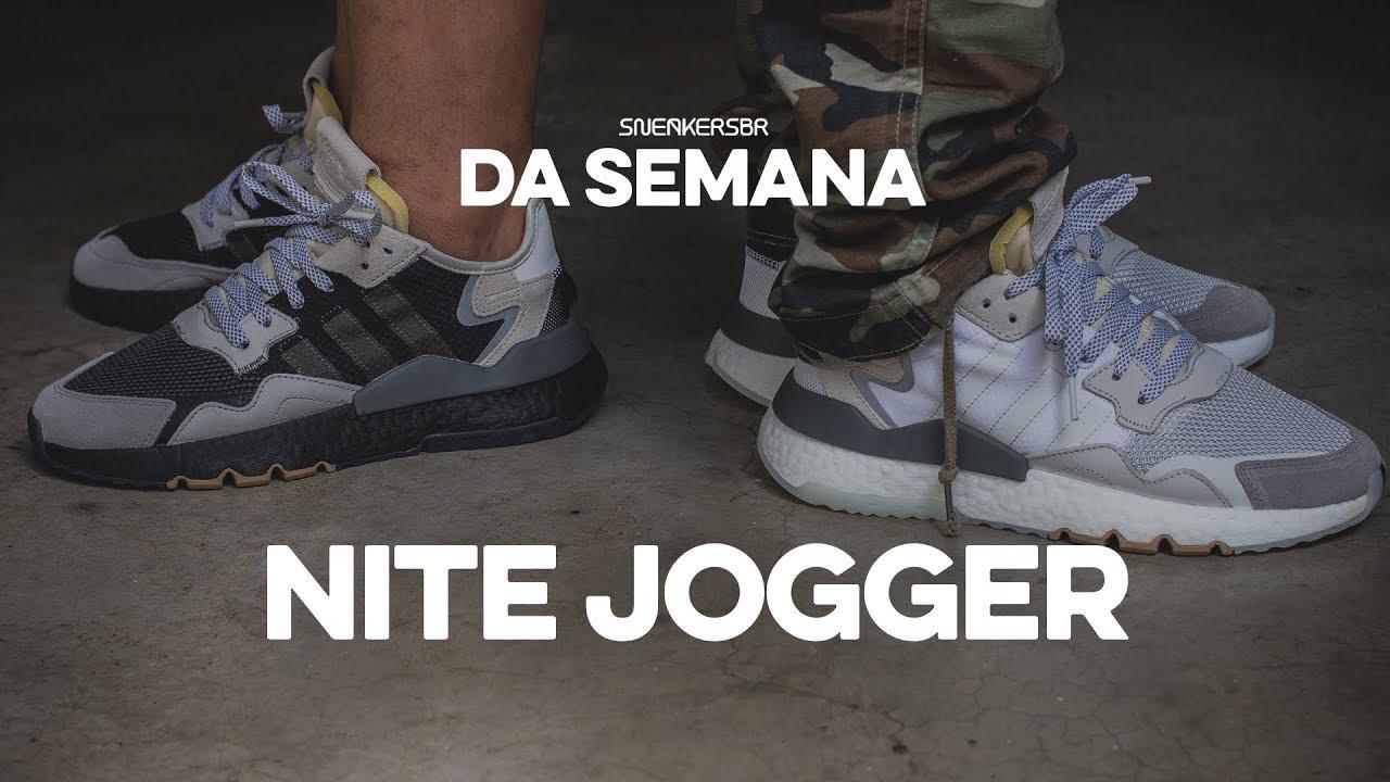 11336493b6b89d Sneakers da Semana - adidas Nite Jogger - YouTube