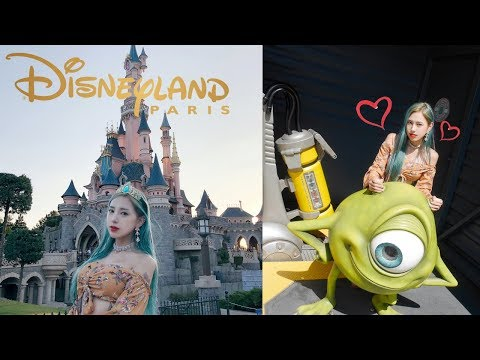 [유럽여행] 가장 동화 속 같다는 파리 디즈니랜드 브이로그! / [Europe Trip] The Fantastic Disneyland Paris VLOG