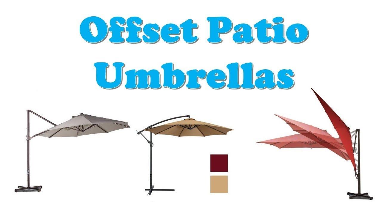 Top 10 Best Offset Patio Umbrellas  sc 1 st  YouTube & Top 10 Best Offset Patio Umbrellas - YouTube