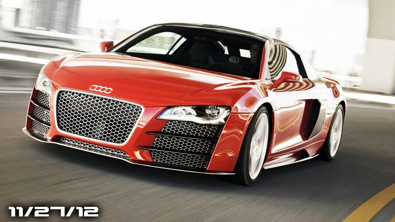 Audi R10 Supercar New A3 Sedan A1 City Car Cadillac Ats