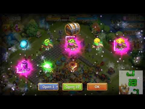 Castle Clash 5th Anniversary: Opening 400 Gala Gift Boxes