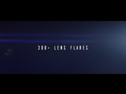 300+ Action SyFy Cinematic Lens Flares!