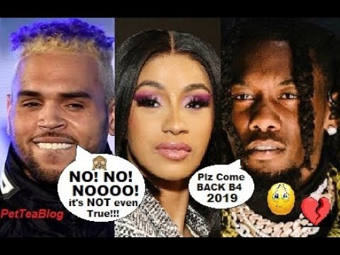 Chris Brown Denies Shooting Shot at Cardi B, Offset BEGS for her Back by 2019 😔💔