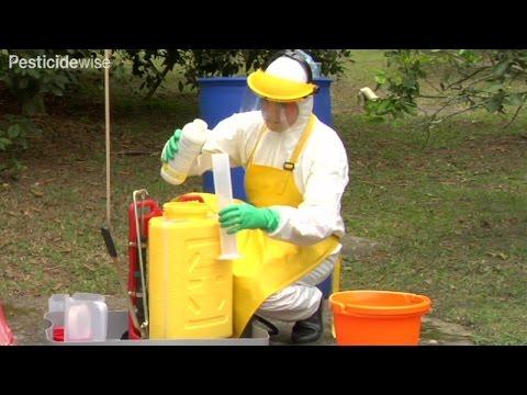 Pesticidewise: mixing your pesticide spray