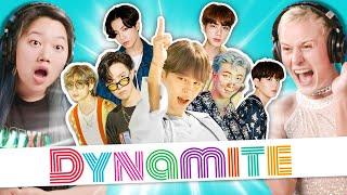 College Kids React To BTS (방탄소년단) 'Dynamite'
