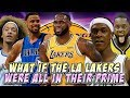 What If The Los Angeles Lakers Were All In Their Prime?