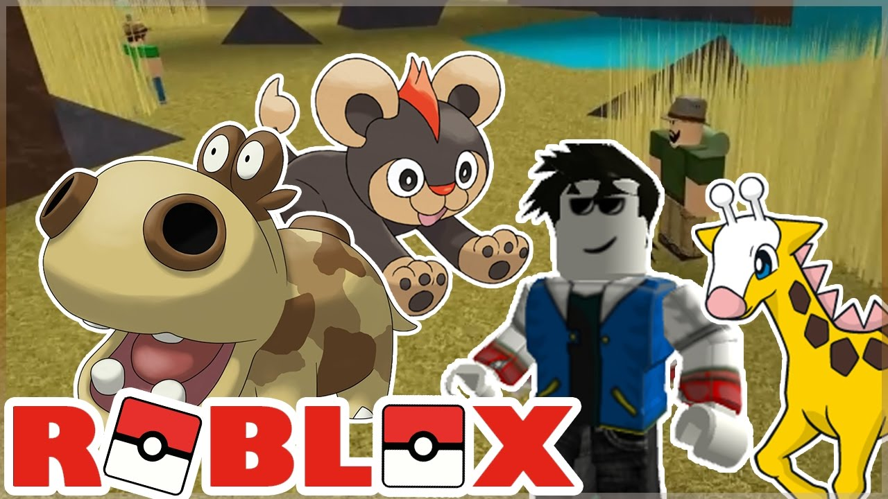 roblox how to make a pokemon game