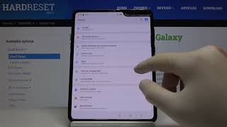 How to Enter Auto Correction Options in SAMSUNG Galaxy Fold – Correct Words