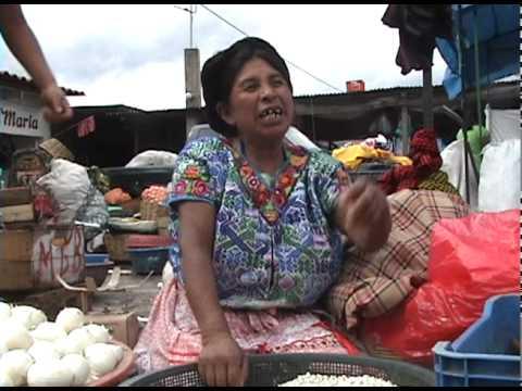 Interview in Antigua Market
