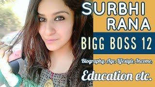 Surbhi Rana Lifestyle,  Height, Age, Income | Bigg Boss 12 Contestant | Surbhi Rana Biography