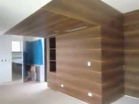 Enchape de madera youtube - Revestimiento madera paredes ...