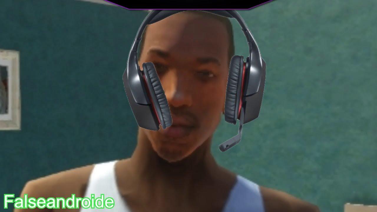CJ juega GTA Roleplay