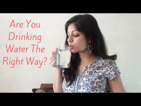 Proper Way Of Drinking Water~ Ayurveda Tips For Healthy Lifestyle