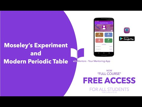JEE-C-PC 003 Moseley's Experiment & Modern Periodic Table.mp4