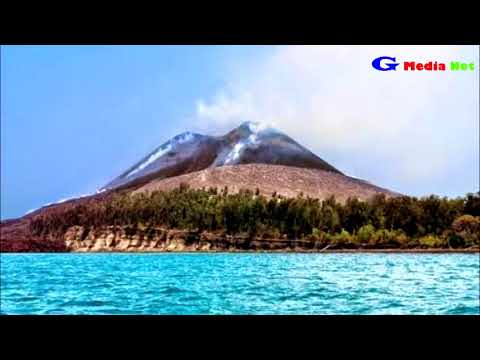 Sejarah Gunung Krakatau - Pemisah Pulau Jawa - Sumatera