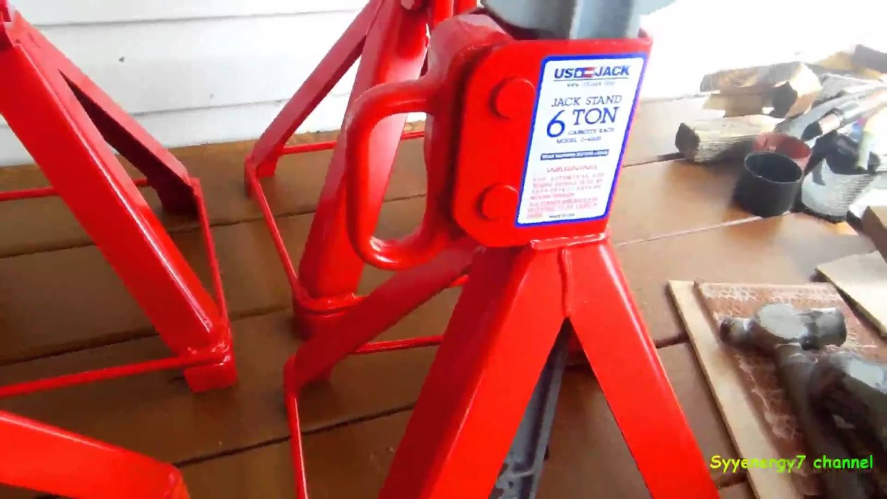 The BEST Jack Stands, 100% USA Made