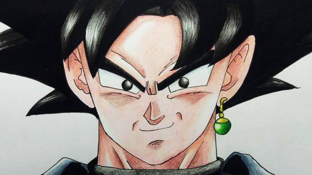 DRAWING BLACK GOKU (DRAGON BALL