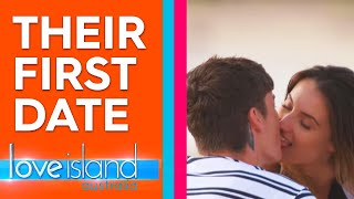 Adam and Cartier are smitten on their hilarious paddle boarding date | Love Island Australia 2019