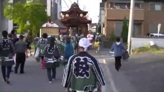 2016年 岡崎市能見神明宮大祭(松本町)