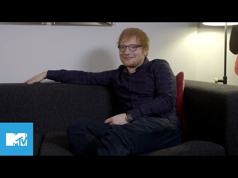 Ed Sheeran Talks Divide & The Best Sg Hes Ever Written  MTV Exclusive Interview