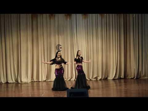 "Deineka Anita and Khomenko Anastasia New Year concert of the Oriental Dance School ""Royal Dance"""