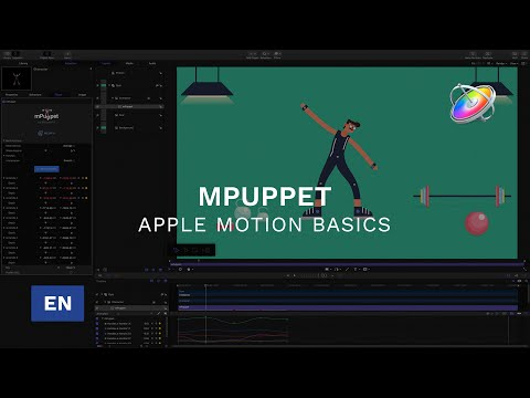 Using mPuppet in Apple Motion - Tutorial - mPuppet FCPX and Apple Motion Plugin - MotionVFX thumbnail