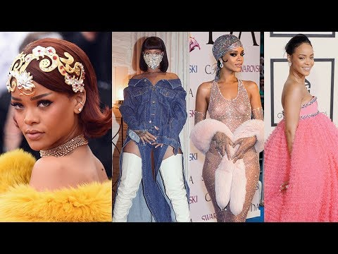 8 Risky Fashion Moves Only Rihanna Could Pull Off