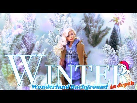 DIY - How to Make: Winter Wonderland Background | In Depth