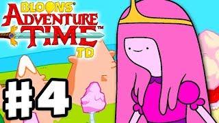 Bloons Adventure Time TD - Gameplay Walkthrough Part 4 - Princess Bubblegum Necro Candy!!