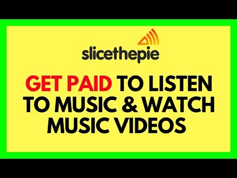 Get paid to listen to music and watch music videos