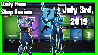 Fortnite Shop Items (July 3rd, 2019) - Doublecross skin & Fireworks wrap
