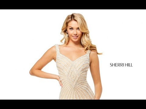 95ef2cec Sherri Hill 52563 Prom Dress - YouTube