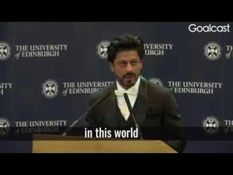 Shah Rukh Khan best speech ever