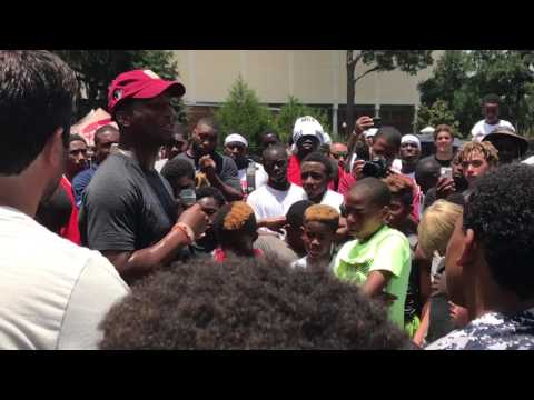 Warchant TV: Jameis Winston addresses campers in Tallahassee