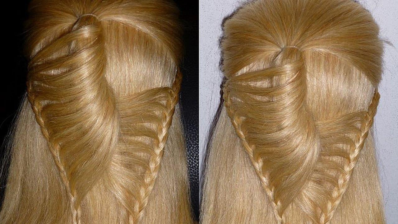 Frisuren Für Mittellange Haare Einfach Flechtfrisurenzopffrisureasy Braid Hairstylepeinados
