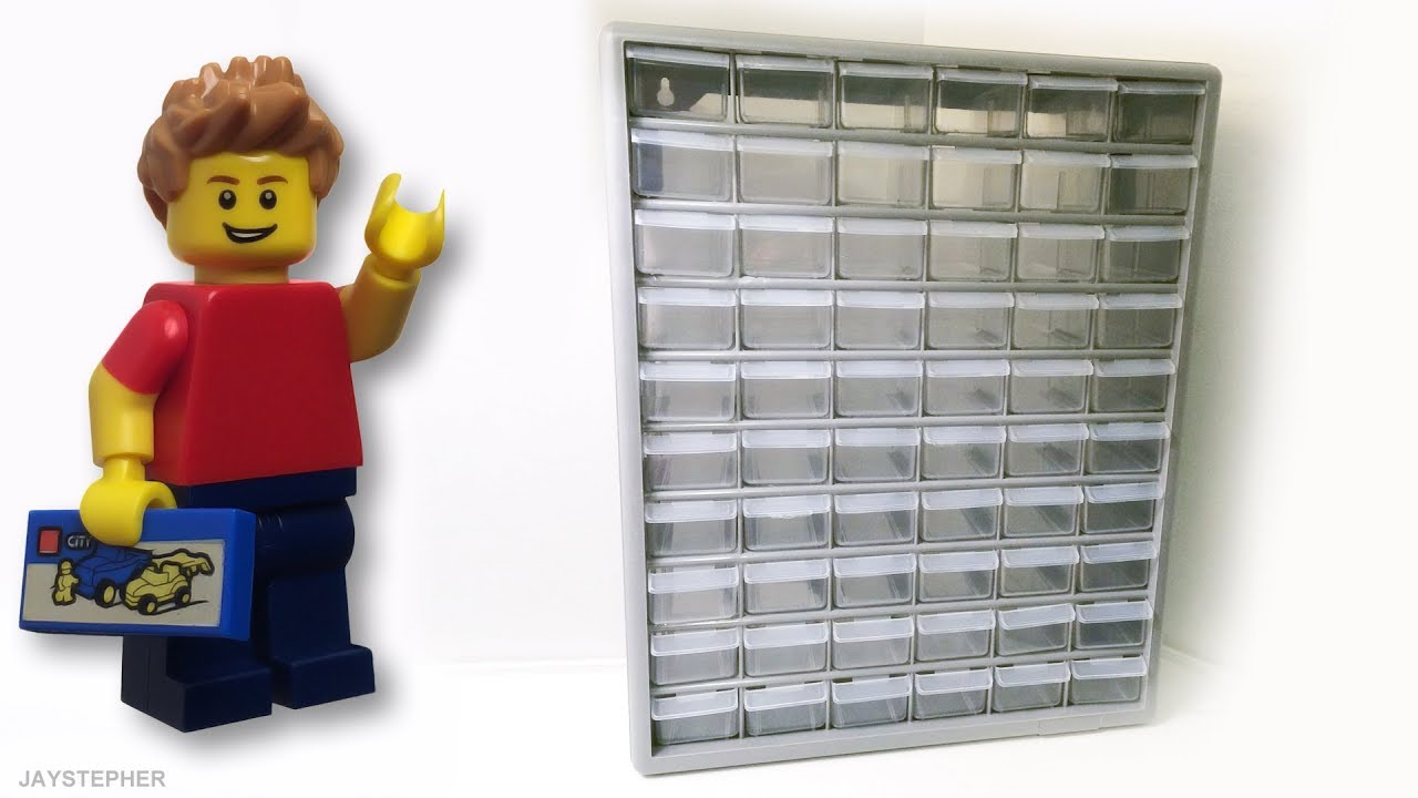Review - Stack-On: 60 Drawer Storage Cabinet (DS 60) [CC ...