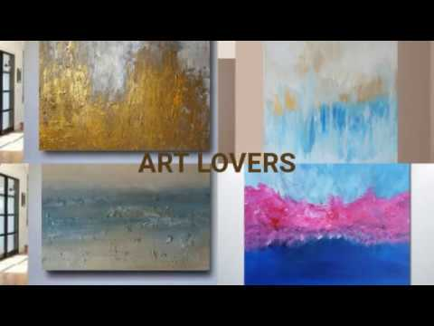 Diy Decorating Ideas Decorative Painting Abstract Art Fl Ify Paintings