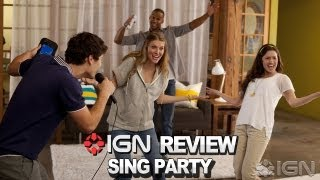 IGN Reviews - Sing Party Video Review
