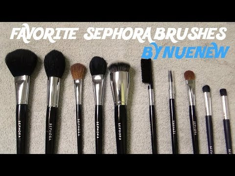 (10) FAVORITE BRUSHES from the SEPHORA COLLECTION w/ BLOOPERS TOO! by NueNew
