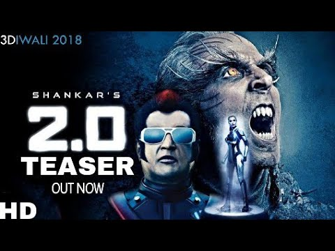 Robot 2.O Teaser Out Now | Rajnikanth |...