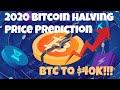 Bitcoin Halving 2020 Price Prediction - BTC To $40K!